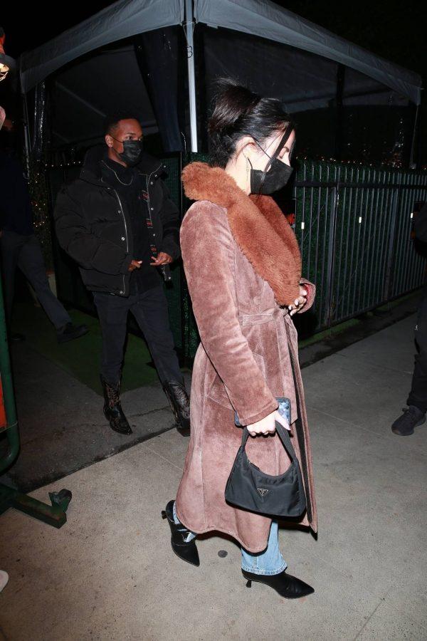Kylie Jenner Leaving Giorgio Baldi with friends in Santa Monica 06