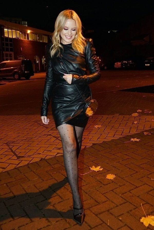 Kylie Minogue Night out in London 01