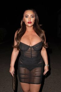 Lauren Goodger Pictured at a TV studio in Barnet 04