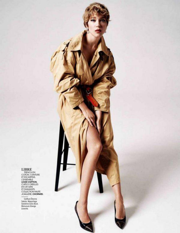 Lea Seydoux Madame Figaro Magazine November 2020 02