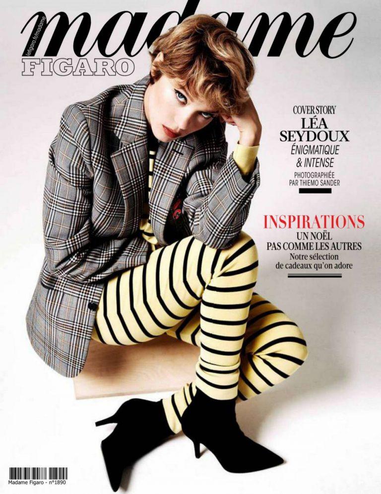 Lea Seydoux Madame Figaro Magazine November 2020 04