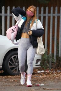 Maisie Smith Seen at Strictly Come Dancing Rehearsals in London 01