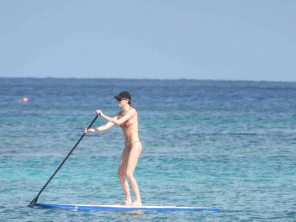 Martha Hunt Bikini candids on vacation in Tulum 05