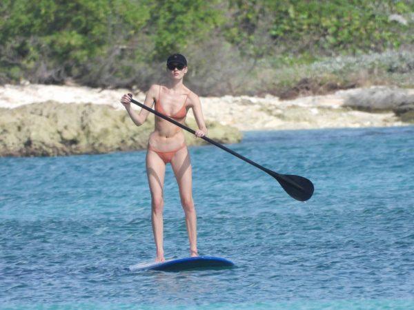 Martha Hunt Bikini candids on vacation in Tulum 15