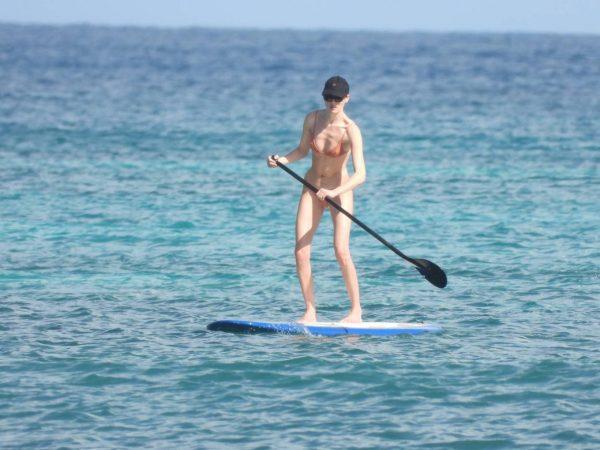 Martha Hunt Bikini candids on vacation in Tulum 19