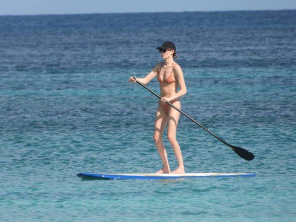 Martha Hunt Bikini candids on vacation in Tulum 20