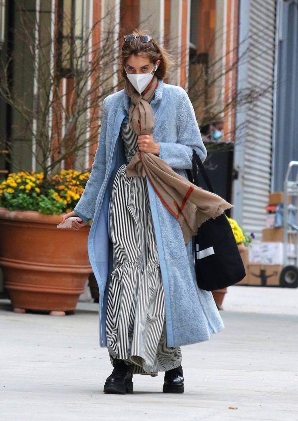 Maya Hawke seen out on a stroll in downtown Manhattan 01