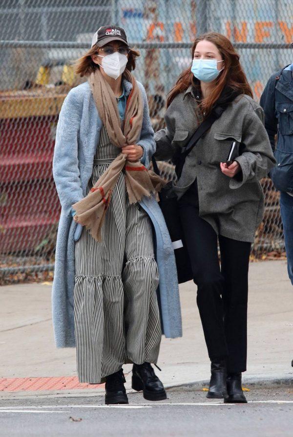 Maya Hawke seen out on a stroll in downtown Manhattan 03