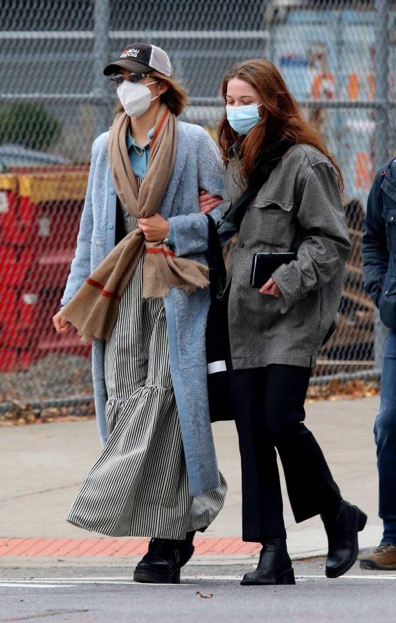 Maya Hawke seen out on a stroll in downtown Manhattan 05