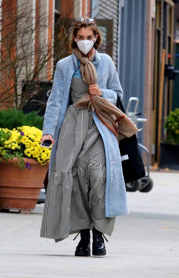 Maya Hawke seen out on a stroll in downtown Manhattan 06