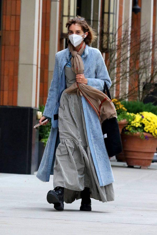 Maya Hawke seen out on a stroll in downtown Manhattan 07