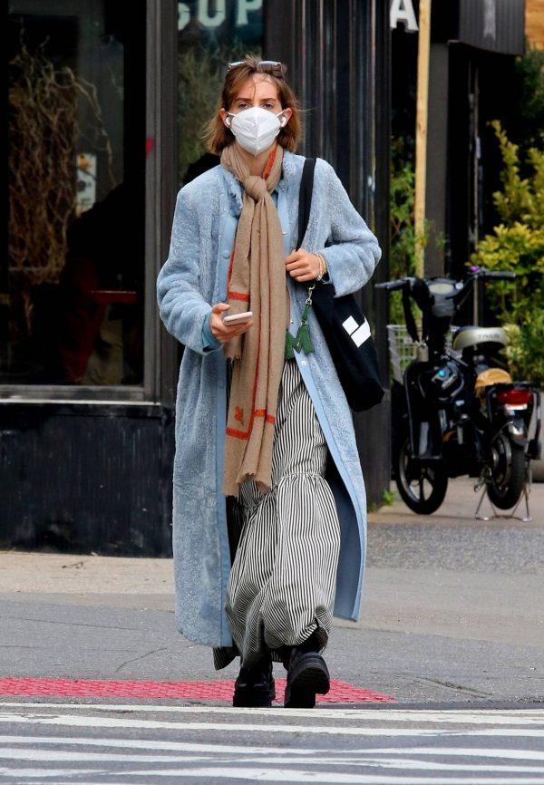 Maya Hawke seen out on a stroll in downtown Manhattan 09