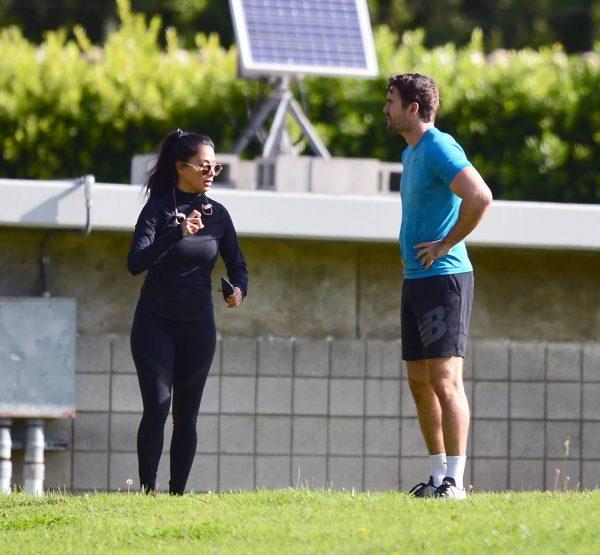 Nicole Scherzinger and Thom Evans Workout candids in an LA park 33