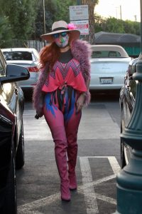 Phoebe Price Out in a colorful outfit in Los Angeles 12