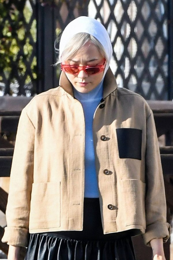 Pom Klementieff Seen while out in Venice 03