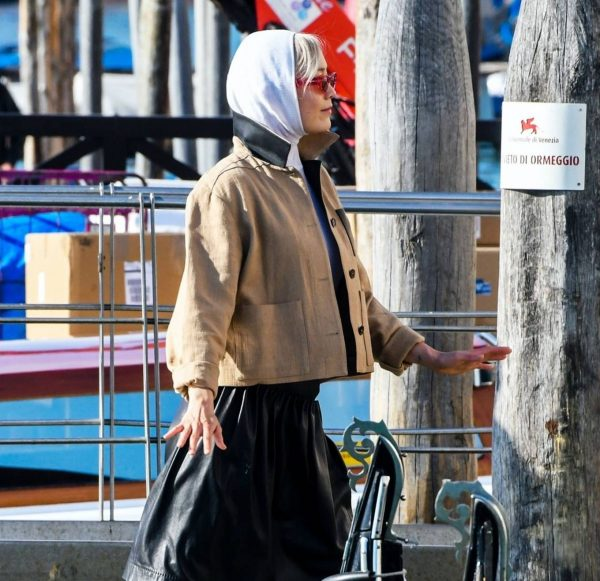 Pom Klementieff Seen while out in Venice 06
