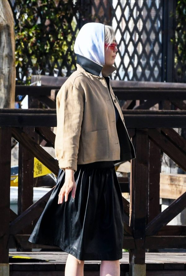 Pom Klementieff Seen while out in Venice 11