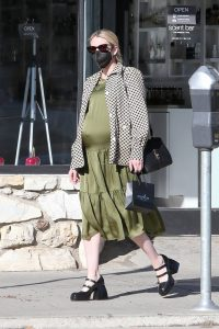 Pregnant Emma Roberts Seen shopping in Los Angeles 08