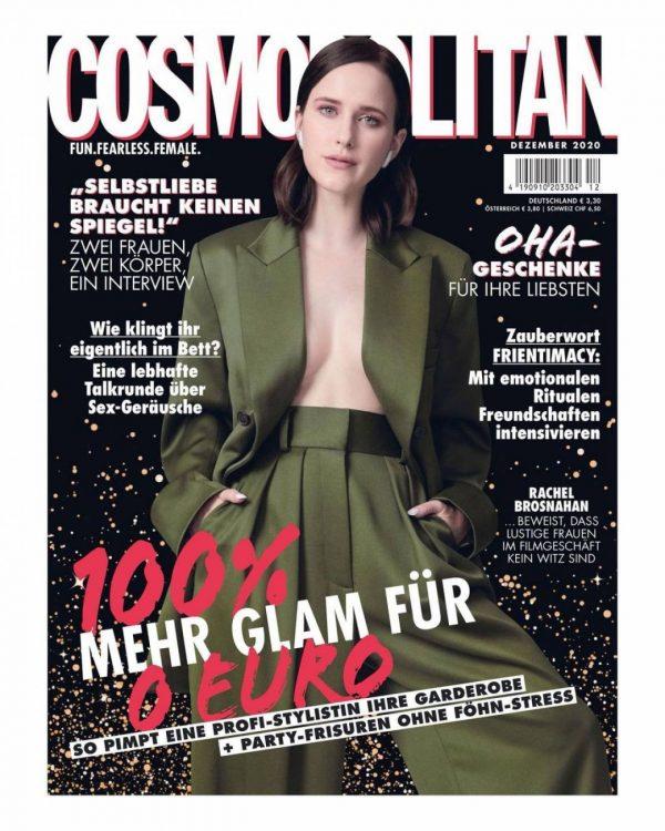 Rachel Brosnahan Cosmopolitan Magazine Germany December 2020 01
