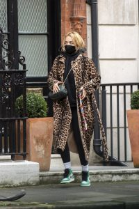 Rita Ora seen out in central London 02