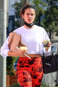 Sara Sampaio Seen after workout at the Dogpound gym in Los Angeles 04