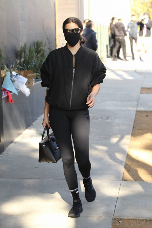 Sara Sampaio Spotted outside Dogpound gym in West Hollywood 11