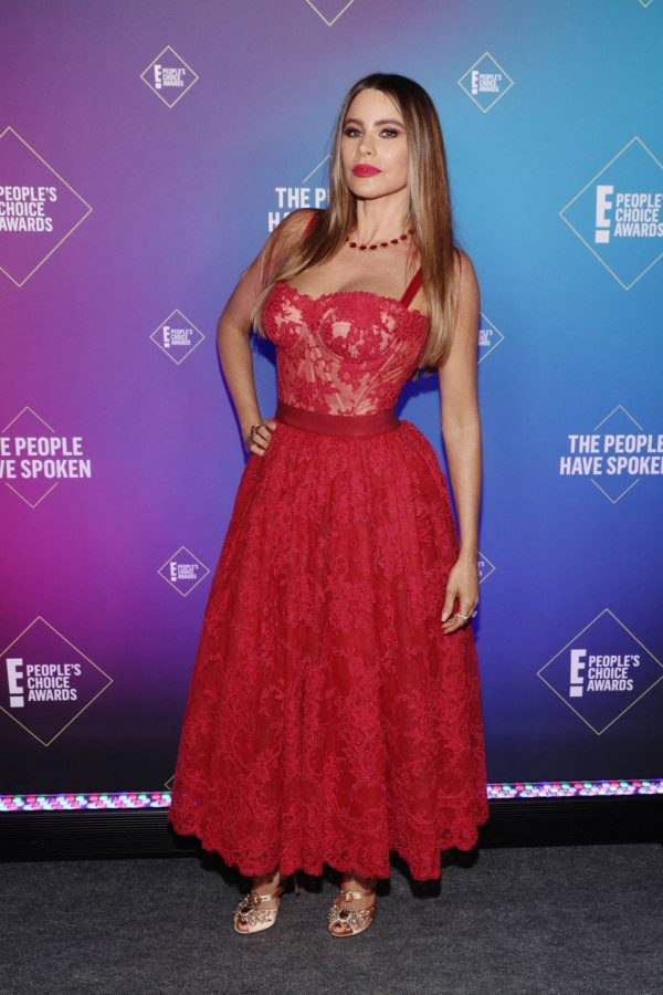 Sofia Vergara 2020 E Peoples Choice Awards in Santa Monica 02