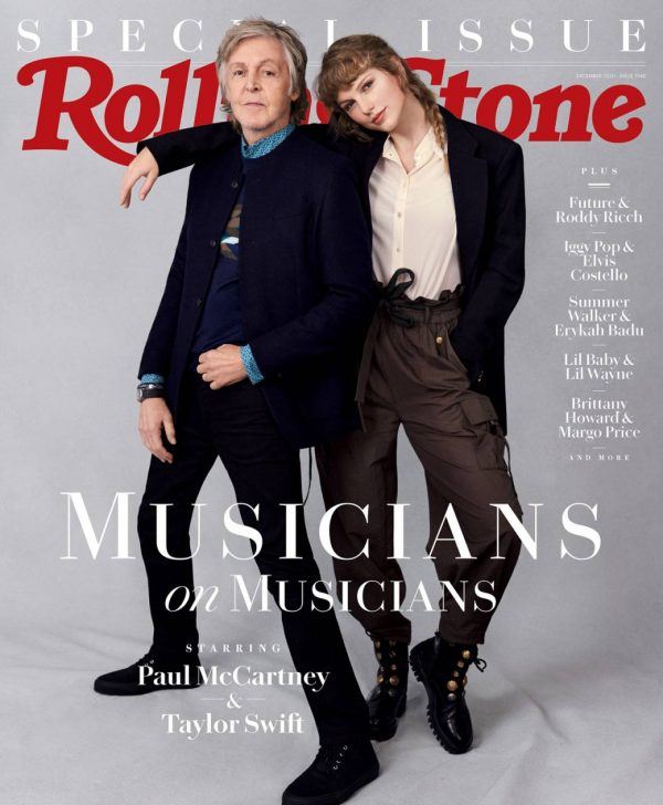 Taylor Swift and Sir Paul McCartney Rolling Stone Magazine November 2020 01