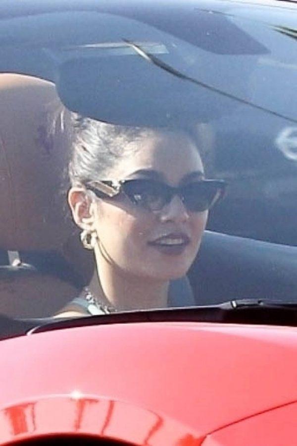Vanessa Hudgens Leaving Dogpound gym in her red Ferrari 09