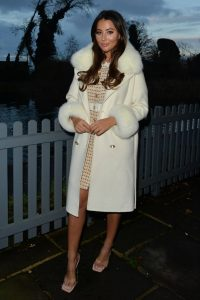 Yazmin Oukhellou Out and about in Essex 01