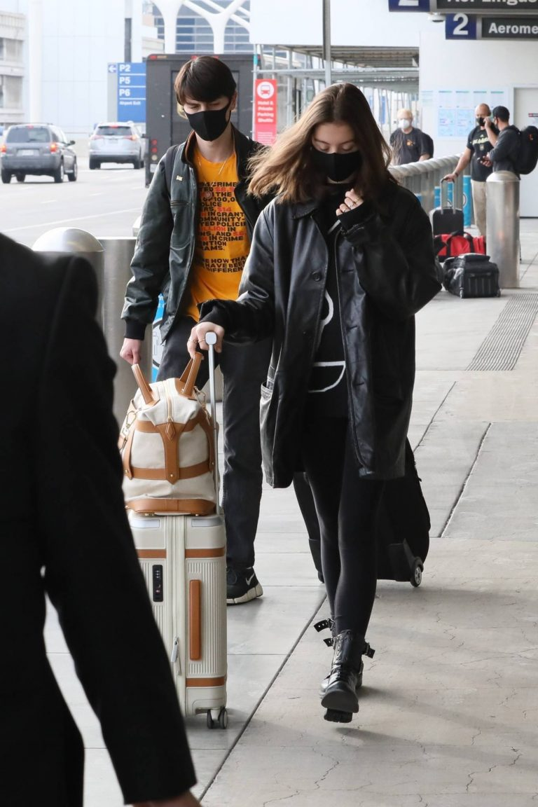 Catherine Zeta Jones With her childres Dylan and Carys are seen in LA 01