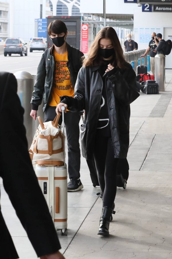 Catherine Zeta Jones With her childres Dylan and Carys are seen in LA 04