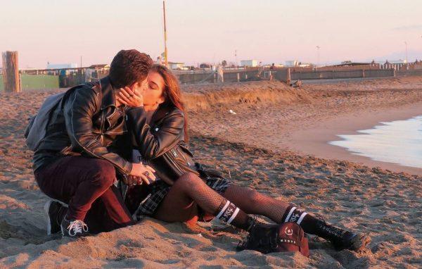 Chiara Bianchino Pictured on the beach with her boyfriend 08