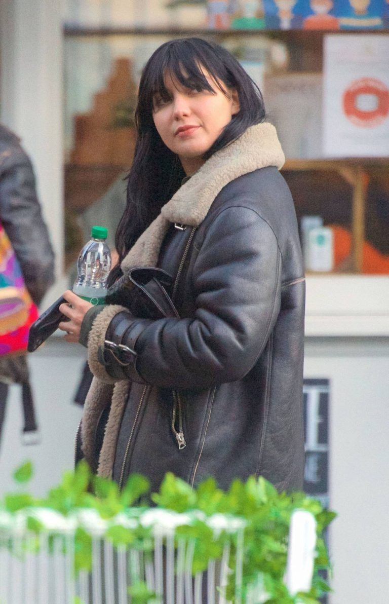 Daisy Lowe Seen at a coffee shop in London 04