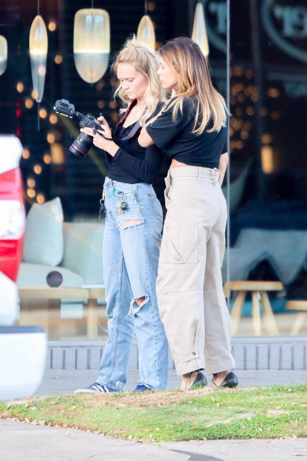 Elisabetta Canalis impromptu Photoshoot in Beverly Hills 03