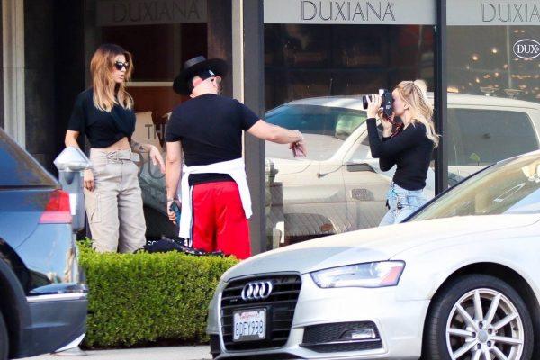 Elisabetta Canalis impromptu Photoshoot in Beverly Hills 06
