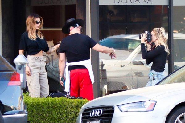 Elisabetta Canalis impromptu Photoshoot in Beverly Hills 08
