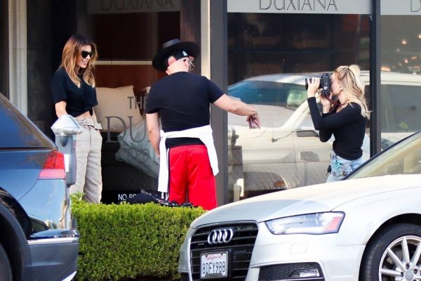 Elisabetta Canalis impromptu Photoshoot in Beverly Hills 09