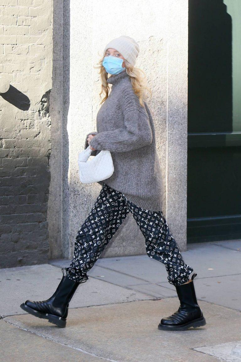 Elsa Hosk Seen out in New York City 04