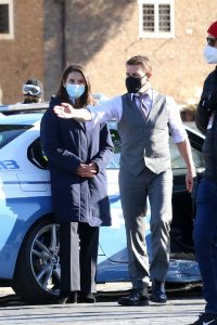 Hayley Atwell On the set of Mission Impossible 7 in Rome 03