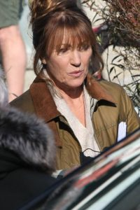 Jane Seymour on set for Harry Wild in Wicklow 04