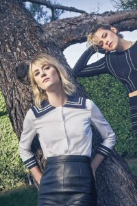 Kristen Stewart and Mackenzie Davis The Guardian magazine 02