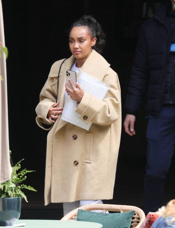 Leigh Anne Pinnock Promoting their new Little Mix single in London 03