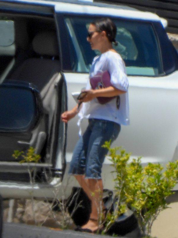 Natalie Portman Seen on her way to Fox Studios 04