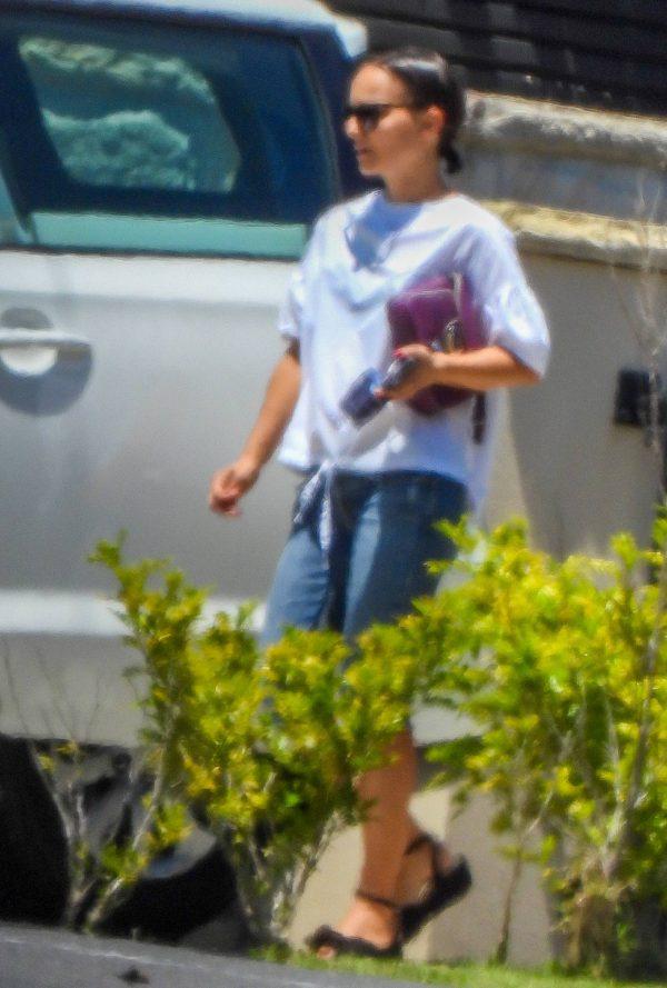 Natalie Portman Seen on her way to Fox Studios 05