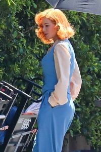 Nicole Kidman and Alia Shawkat On the set of Being the Ricardos in Los Angeles 03