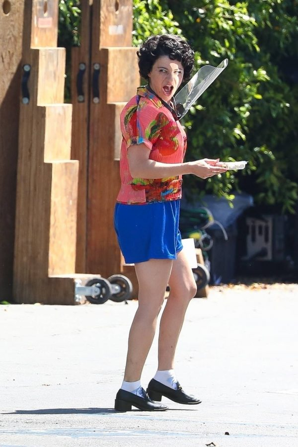 Nicole Kidman and Alia Shawkat On the set of Being the Ricardos in Los Angeles 04