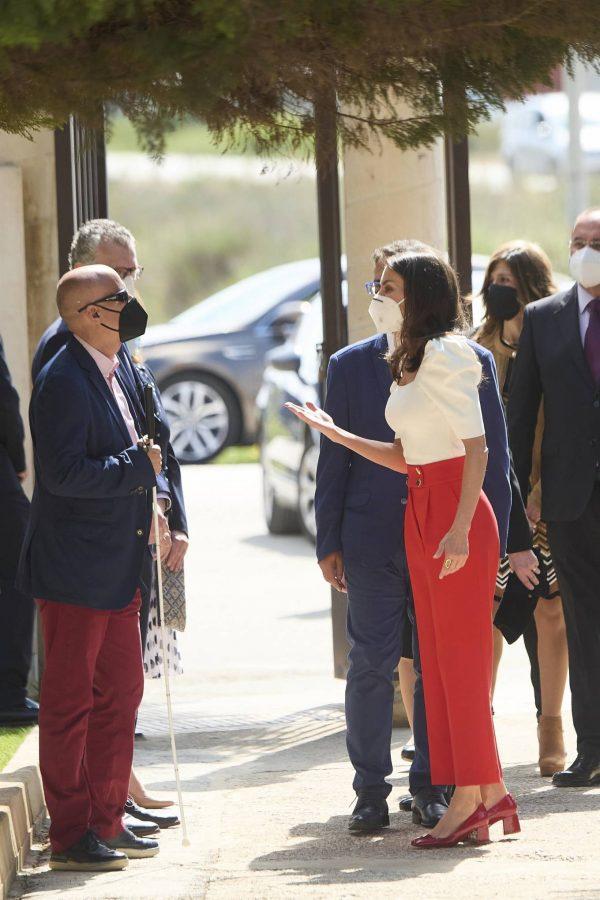 Queen Letizia of Spain 2021 Educational Congress on Rare Disease at CPEIBas Guadalentin in Totana 03