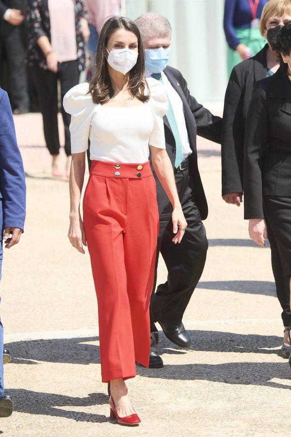 Queen Letizia of Spain 2021 Educational Congress on Rare Disease at CPEIBas Guadalentin in Totana 08