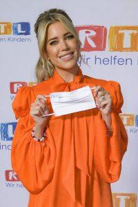Sylvie Meis Red carpet at 2020 RTL Telethon in Huerth 08